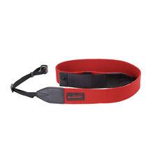 Artisan & Artist Red Label - Red Neck Strap for DSLR Cameras w/ Cap Holder AC200