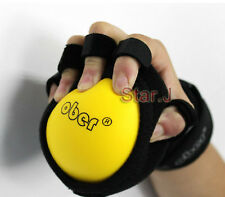 Hand Grip Strength Strengthener Ball Wrist Exerciser Physio Finger Injury Brace