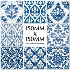 Traditionnel Vintage Tile Stickers Cuisine transferts 150 mm ou 100 mm-M44