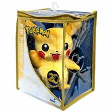 "NEW Pokemon 20th Anniversary Limited Edition 8"" Sitting Pikachu Plush Kids Teddy"