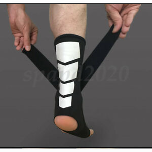 Breathable Ankle Support Sports Safe Brace Stabilizer Foot Strap Wrap Bandage