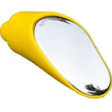 Specchietto Retrovisore Bici Regolabile Manubrio da Corsa singolo giallo