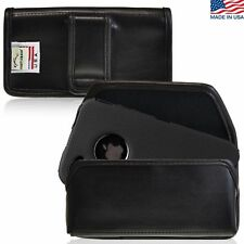 Apple iPhone 4S Holster Black Belt Clip Case Pouch Leather Turtleback