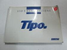 """Manuale uso e manutenzione Fiat Tipo """"edizione 1995""""  [6025.15]"""
