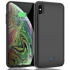 For iPhone XS Max/XS/XR/X Battery Case Charger Backup Power Bank Charging Cover