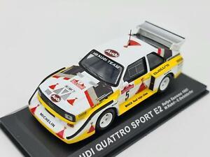 1/43 1985 Audi Quattro Sport E2 - Rallye Sanremo - Rohrl / Geistdorfer