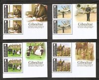 Gibraltar, Centenary Of The Accession To The Throne Of King George V. MNH