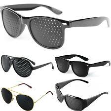 Pin Hole Eyesight Improve Eye Training Exercise Glasses
