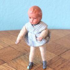 Baby Metallfüße und -hände 50er Caco  Puppenstube Puppenhaus 1:18 dollhouse doll
