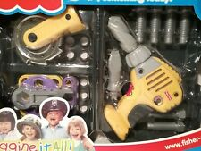 Fisher-Price Tool Kit Drill,saw, carry case, wrench, bolts, sound