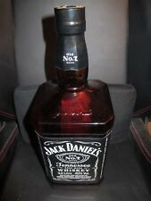 JACK DANIELS 3Ltr GLASS DISPLAY BOTTLE WITH INTACT SEAL - BOXED - NO ALCOHOL