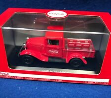 1:43 Coca Cola 1934 Ford Model A Pickup with 6 bottle cartons  #443743
