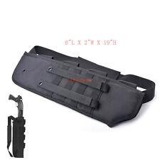 Tactical Rifle Shotgun Scabbard Bag MOLLE straps Shoulder Sling Padded Case
