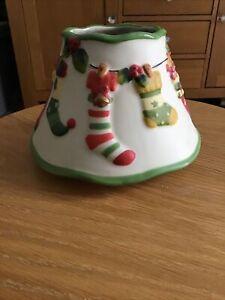 Yankee Candle Jar Shade Large Medium Christmas Stockings