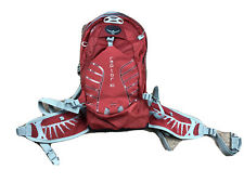 Osprey Packs Raptor 10 Men's Bike Hydration Backpack Red Used With Hydration