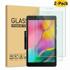 2 X For Samsung Galaxy Tab A 8.0 Tablet SM-T295 Tempered Glass Screen Protector