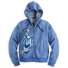 Disney Designer Fairytale Cinderella Hooded Sweatshirt Sweater Top Sz Md
