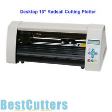 "New 15"" Redsail Mini Desktop Cutting Plotter Vinyl Sticker Cutter RS500C"