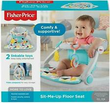 New Fisher Price Sit Me Up Floor Seat Linkable Toys Foldable Windmill Print