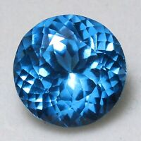 3.40 Carat 8X12.5X4.5 MM Pear Shape Natural Faceted Blue Color Tourmaline Untreated Facet Cut Blue Tourmaline Loose Cut Gemstone