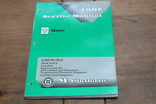 Geo Metro Engine Controls Trans & Electrical Diag 1997 Chevy Shop Service Manual