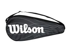 Wilson Porta Racchetta Cover Performance, Tennis, Unisex -Art. WRC701300 (Nero/B