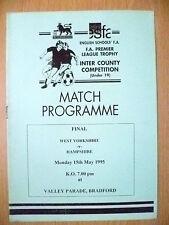 1995 School FA Premier Leg Trophy Inter County U-19,FINAL -YORKSHIRE v HAMPSHIRE