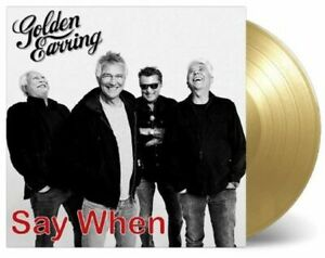 """Golden Earring - Say When 7"""" limited Gold with free Adapter"""