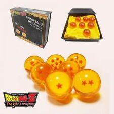 Dragonball Z Stars Crystal Glass Seven Dragon Balls Collection anime gift set