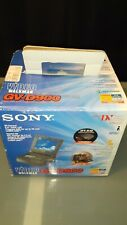 Sony GV-D900 Video Walkman MiniDV VCR Player Recorder in box  + TGV-100 Tv Tuner