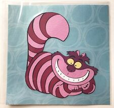 DISNEY CHESHIRE CAT ASSEMBLED EMBELLISHMENT ALICE IN WONDERLAND CRICUT 4.25X5 IN