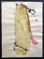 Paul Roxi, Zeichnung, handmonogrammiert