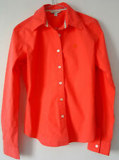 POLO JEANS COMPANY By Ralph Lauren Red BLOUSE SHIRT TOP - M - MINT CONDITION