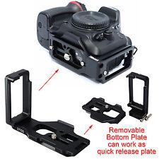 Separable Quick Release Plate Camera Bracket Holder f Ballhead Nikon D7200 D7000
