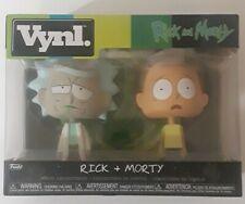 Rick & Morty Funko Vinyl 2 pack Vnyl Adult Swim Brand New