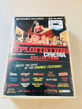 The Exploitation Cinema Collection DVD 20 Films Sealed New OOP HTF
