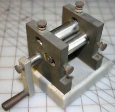MACHINIST/ TOOL MAKER CUSTOM MADE JEWELERS ROLLER NON FERROUS SHEET/ WIRE SOLDER