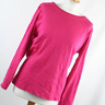 Marks & Spencer Womens Size 22 Red Plain Cotton Basic Tee