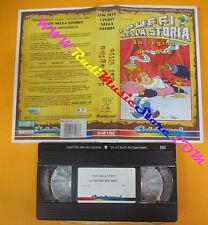 VHS film I PUFFI NELLA STORIA La regina del nilo 1991 animazione (F137) no dvd