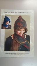 Knitting Pattern #1009 Hood with Scarf to Knit