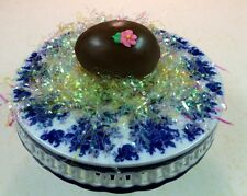 HOMEMADE 1 POUND PEANUT BUTTER FILLED CHOCOLATE EASTER EGG by Needfull Things