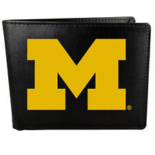 Michigan Wolverines NCAA Rico Industries  Laser Engraved Billfold Wallet