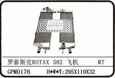 ULTRALIGHT AIRCRAFT 2 STROKE ROTAX 582 90-99 ALLOY RADIATOR - A PAIR