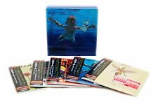 Nirvana - 5 Mini LP CD Japan 2007 + Promo-Box & Flyer VERY RARE OOP NEW Cobain!!