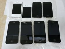 *-*LOT OF 8 IPHONE 4S  FOR PARTS OR REPAIR LOCKED