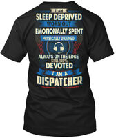 Quality Dispatcher - I Am Sleep Deprived Worn Out Hanes Tagless Tee T-Shirt