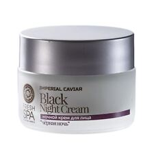 Natura Siberica Fresh Spa Black Rejuvenating Night Cream 50ml