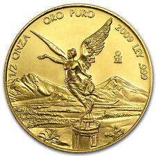 2009 Mexico 1/2 oz Gold Libertad BU - SKU #54245
