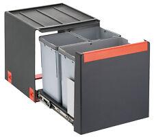 FRANKE Sorter Cube 40 / Handauszug Abfalltrennsystem / 1 x 14 l / 2 x 7 l Behält