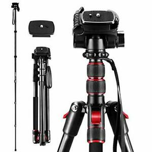 """Professional 2m/78.74"""" 2 In 1 Stable Triopod/Monopod For Camera/Photography"""
